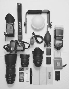 My gear #pakornphotography #canon #7d