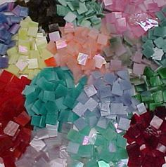 tiles by the pound [I presume these are for mosaics so I'm boarding this pic there. ;) Mo]