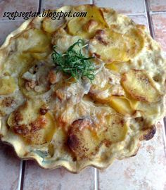 Hungarian Recipes, Quiche, Cauliflower, Macaroni And Cheese, Cake Recipes, Pizza, Chicken, Baking, Vegetables