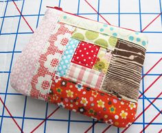 Small Patchwork Zip Pouch | Flickr - Photo Sharing!