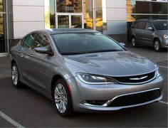 I like the new Chrysler 200's like this one.