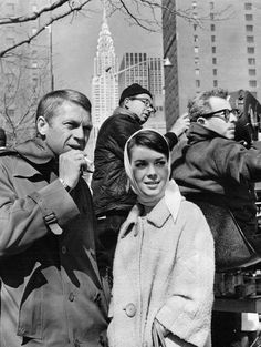 "waiting for their NYC shot in ""Love with the Proper Stranger"" (1963)"