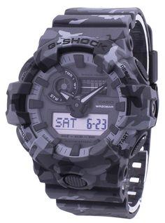 f98eeadbd86 Casio Illuminator G-Shock Shock Resistant Analog Digital GA-700CM-8A  GA700CM-