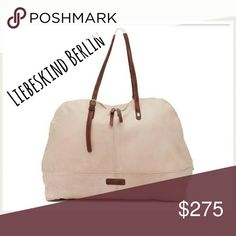 ff89b28e3d New Large Liebeskind Berlin Handbag Brand New and gloriously large goat  leather Liebeskind Berlin handbag! Gorgeous beige with hues of light  pink blush.