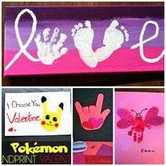 Valentine's Day Handprint Craft & Card Ideas - Crafty Morning