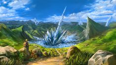 fantasy art crystal