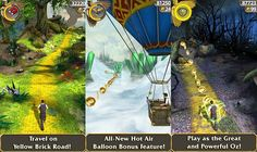Disney's Temple Run: Oz Released for Android, iPhone and iPad [Mobile App]