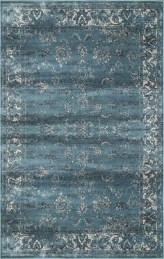 $5 Off when you share! Beaumont Adileh Marine Rug | Traditional Rugs #RugsUSA