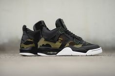 BespokeIND Blends BAPE Imagery & GORE-TEX Into Custom Air Jordan 4