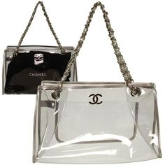 a2fd57eba4a Fashion Lover  New must-have    Transparent bags!!! Chanel