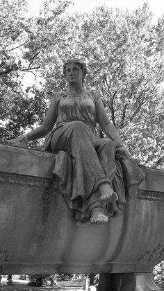 Bragg Monument by Professor Nicholas Massa, Spring Grove Cemetery, Cincinnati, OH