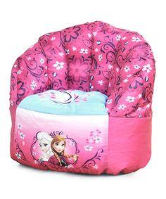 Look what I found on #zulily! Frozen Beanbag Chair by Frozen #zulilyfinds
