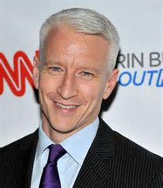 Ivy League Haircut of Anderson Cooper Anderson Cooper, 2015 Hairstyles, Cool Hairstyles, Balding Hairstyles, Men's Hairstyle, Beckham, Erin Burnett, Medium Length Cuts, Receding Hair Styles