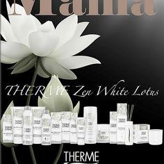 Mama, to przede wszystkim Kobieta, korzystaj więc Mamo z dobrodziejstw innej Matki (natury), bo w kosmetykach THERME świat naprawdę leczy. Matki, White Lotus, Place Cards, Place Card Holders