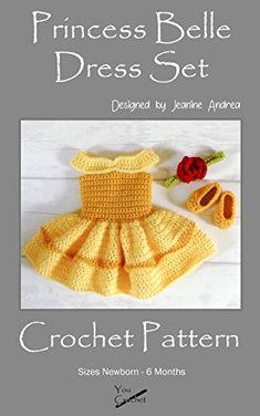 Super Einfaches Babykleid Häkeln 0 3 Mon 3 6 Mon Und 6 12 Monate