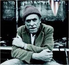 """We're all going to die, all of us, what a circus! That alone should make us love each other but it doesn't. We are terrorized and flattened by trivialities, we are eaten up by nothing."" Charles Bukowski #quote"