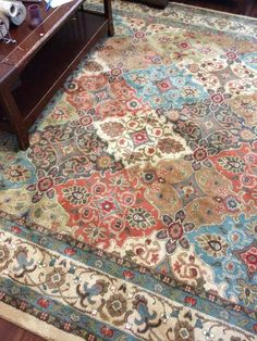 Home Decorators Collection Persia Almond Buff 8 Ft. X 10 Ft. Area Rug. Mohawk  HomeAccent ...