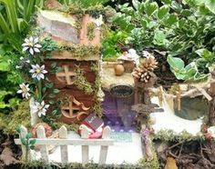 made by Fairy Things by Toni Louise xx fairy door fairy house