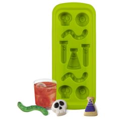 9 CAVITY SILICONE SCIENCE LAB ICE MOLD