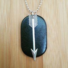 Men's Leather Essential Oil Diffuser Necklace  www.etsy.com/shop/EssentiallyElegant