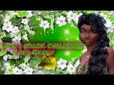 Pick a color challenge /Zaira Green / Sims 4  -