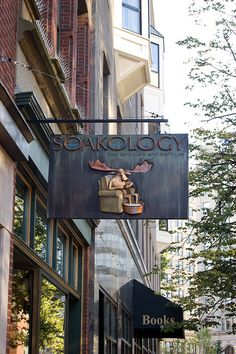 SOAKOLOGY in Portland, Maine...WANT to go here! Would LOVE this!