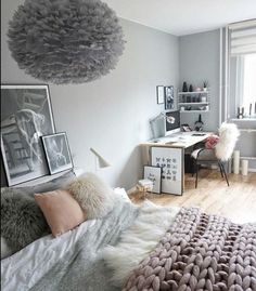 Cute teenage bedroom ideas cute teen room decor best cute teen bedrooms ideas on cute teen . Comfy Bedroom, Girl Room, Room Inspiration, Interior Design, Bedroom Decor, Room Makeover, Interior, Bedroom Design, Home Decor