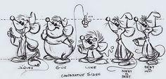 The mice of Cinderella
