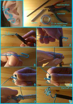easy earcuff tutorial