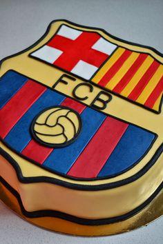 Football Birthday, Baby Boy Birthday, Birthday Cakes, Little Boy Cakes, Cakes For Boys, Fc Barcelona, Barcelona Party, Sport Cakes, Soccer Cakes