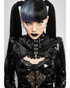 Free, fast shipping on Robotica Jeweled Shrug at Dolls Kill, an online boutique for rave wear and festival fashion. Gothic Girls, Hot Goth Girls, Gothic Lolita, Gothic Dress, Dark Fashion, Emo Fashion, Gothic Fashion, Latex Fashion, Steampunk Clothing