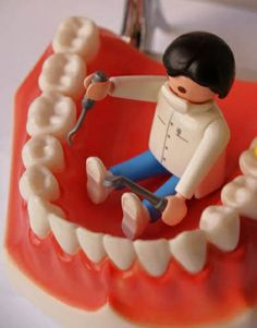 Do you ever wish you were so small you could sit inside the mouth when you are doing dentistry?