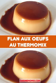 Creme Dessert Thermomix, Thermomix Desserts, Easy Desserts, Mousse, Creme Brulee, Dory, Panna Cotta, Deserts, Pudding