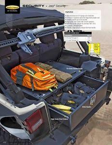 Smittybilt Security Storage Vault 07-13 Jeep Wrangler JK & JKU 2763 Black in eBay Motors, Parts & Accessories, Car & Truck Parts, Other Parts | eBay
