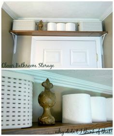 Bathroom Storage Ideas for Small Spaces; solutions for your everyday family…