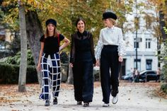 Paris Fashion Week - Power Parisiennes - Street Chic - Fashion