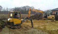 #Volvo EC15B und #Liebherr 912: klein und groß, gemeinsam wird's gemacht...