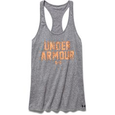 Under Armour Women's Charged Cotton Tri-Blend Tank (Carbon Heather)