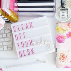 """116 Likes, 9 Comments - Jamie Avery Pate (@jamiepate) on Instagram: """"It's National Clean Off Your Desk Day. And I have a few tips to share with you. Because it's…"""""""
