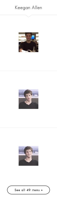 """""""Keegan Allen"""" by lsdlovelies ❤ liked on Polyvore"""
