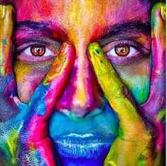 Aura Colors Meaning, Pop Art, Aura Reading, Art Visage, Color Meanings, 5d Diamond Painting, Art Moderne, Auras, Color Of Life