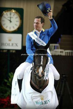 Christian Ahlmann and Taloubet Z winners @WorldCupGeneva Top10 ROLEX IJRC 2012  Ph. Stefano Grasso