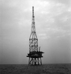REM Island, radio and television station 9 KM near the coast of Noordwijk.-The Netherlands-1964.