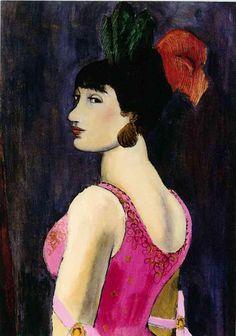 Walt Kuhn, Angna Enters, 1924