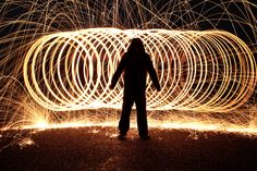 Silhouette of me in front of sparks Light Photography, Silhouette, Concert, Recital, Concerts