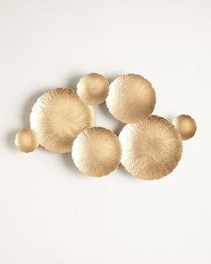 Ares Gold-Tone Wall Decor by undefined at Neiman Marcus Asian Home Decor, Cheap Home Decor, Diy Home Decor, Home Decor Accessories, Decorative Accessories, Decoration, Art Decor, Decor Ideas, Diy Ideas