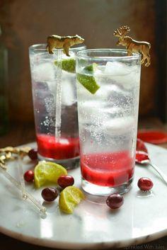Cranberry Shrub (Drinking Vinegar) / Sprinkled With Jules