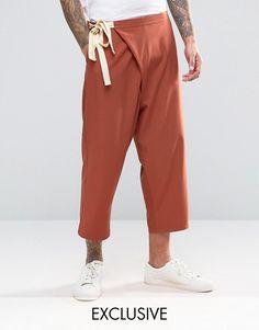 Reclaimed Vintage | Reclaimed Vintage Wrap Trousers