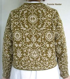 Ups, denne ligner på min Bislettbekken :0  Ravelry: Stranded Colorwork Jacket, Version B pattern by Connie Hester