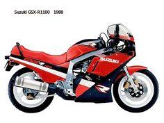 1988 Suzuki GSXR 1100